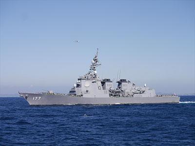 US Navy Battleship